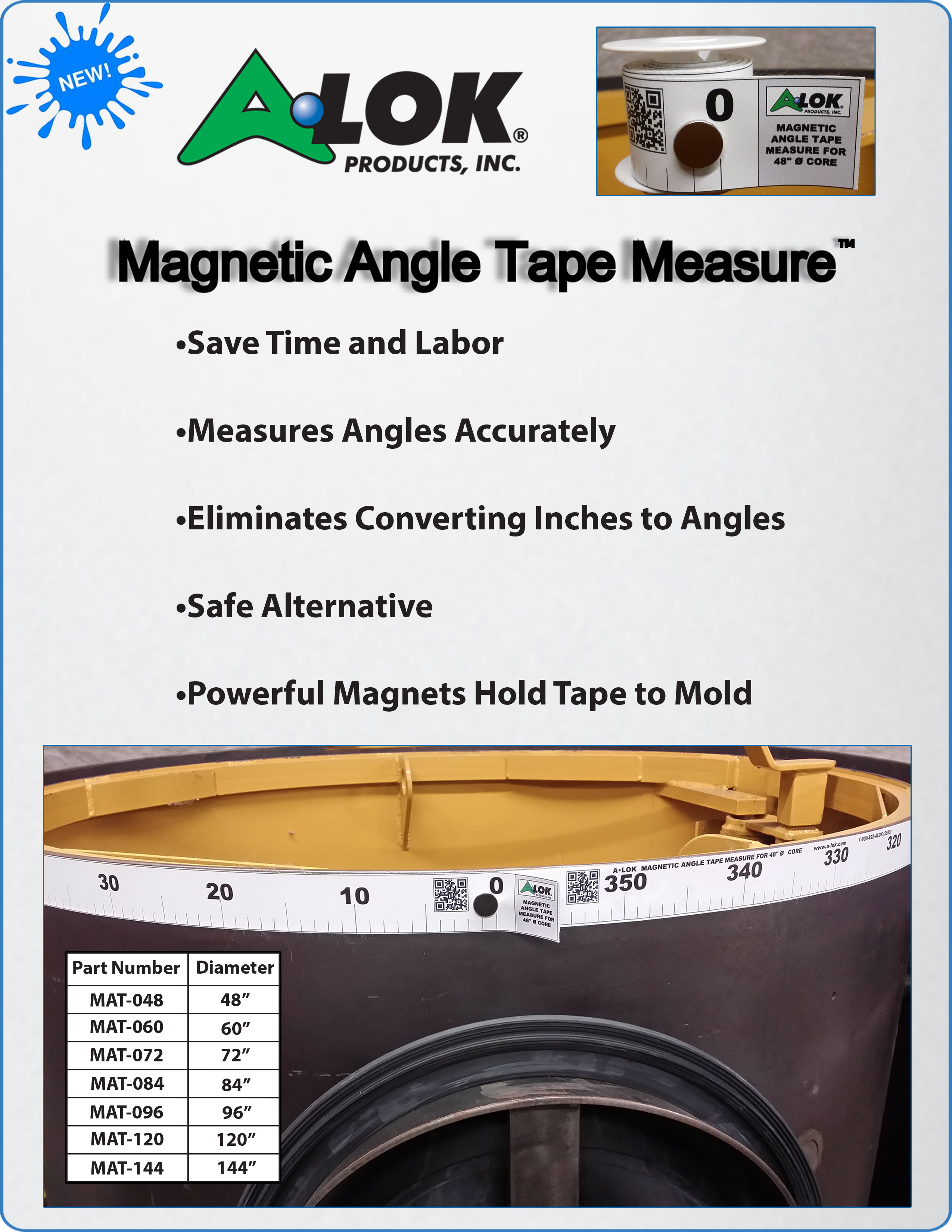 Magnetic Angle Tape Measure